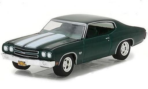 Chevrolet Chevelle 1/64 Greenlight SS 396 metallise green Film John Wick 1970 diecast model cars