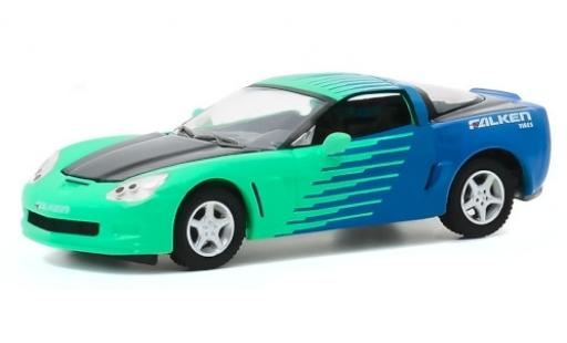 Chevrolet Corvette 1/64 Greenlight (C6) Z06 Falken Tires 2013 modellautos