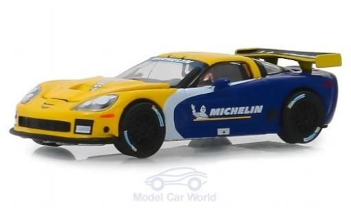 Chevrolet Corvette 1/64 Greenlight C6R Michelin 2009 miniatura