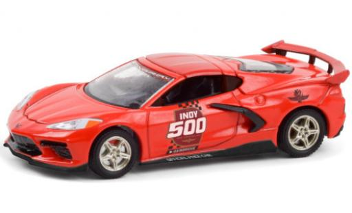 Chevrolet Corvette 1/64 Greenlight Stingray (C8) Indy 500 - Official Pace Car 2020 104th Annual Indianapolis 500 Mile Race diecast model cars