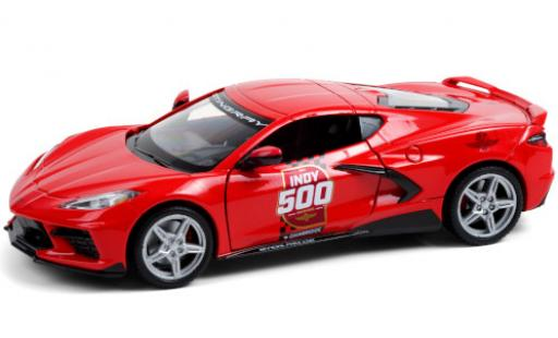 Chevrolet Corvette 1/24 Greenlight Stingray (C8) Indy 500 - Official Pace Car 2020 104th Running Indianapolis 500 Mile Race diecast model cars
