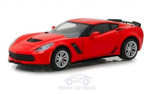 Chevrolet Corvette 1/24 Greenlight Z06 rouge 2019 miniature