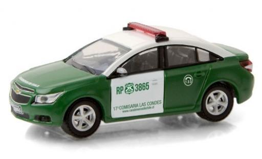 Chevrolet Cruze 1/64 Greenlight Carabineros de Chile 2013 miniature