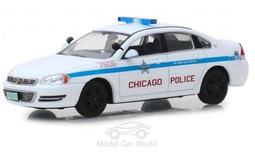 Chevrolet Impala 1/43 Greenlight Chicago Police 2010 miniatura