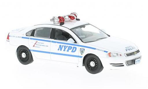 Chevrolet Impala 1/43 Greenlight Police Cruiser Blue Bloods 2010 miniature