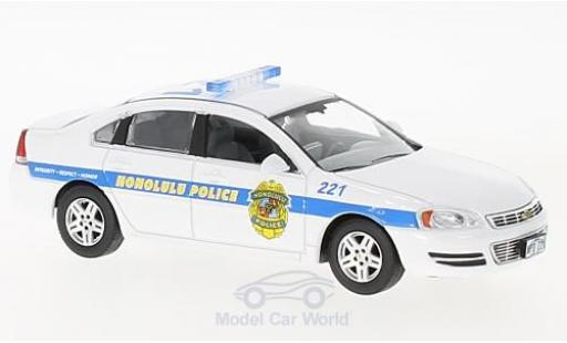 Chevrolet Impala 1/43 Greenlight Police Cruiser Honolulu Police - Hawaii Five-0 2010 miniature