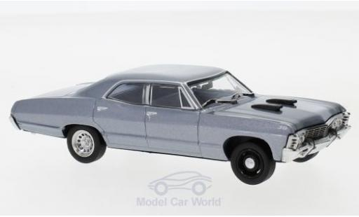Chevrolet Impala 1967 1/43 Greenlight Sedan metallise grise The A-Team miniature