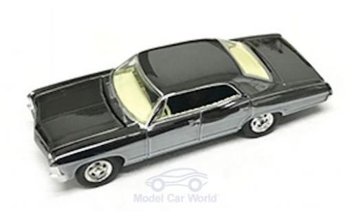 Chevrolet Impala 1/64 Greenlight Sport Sedan noire/chrom Supernatural 1967 miniature