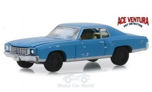 Chevrolet Monte Carlo 1/64 Greenlight Ace Ventura - Pet Detective 1972 miniatura