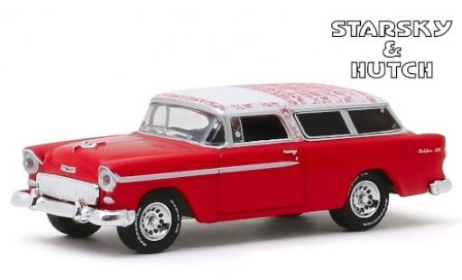 Chevrolet Nomad 1/64 Greenlight rouge/blanche Starsky & Hutch 1955 miniature