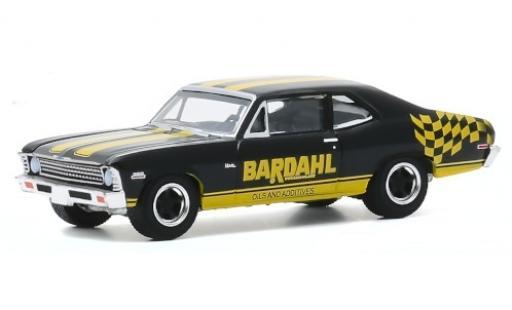 Chevrolet Nova 1/64 Greenlight Bardahl 1972 diecast model cars