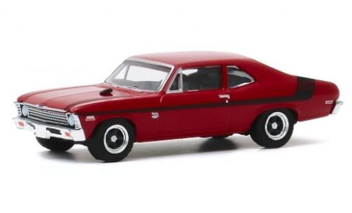 Chevrolet Nova 1/64 Greenlight Yenko Deuce rouge/noire 1971 miniature