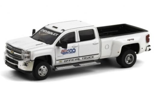 Chevrolet Silverado 1/64 Greenlight 3500 HD Indy 500 2017 101st Annual 500 Mile Race Official Truck diecast model cars