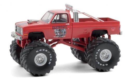 Chevrolet Silverado 1/64 Greenlight Monster Truck Samson I 1984 diecast model cars