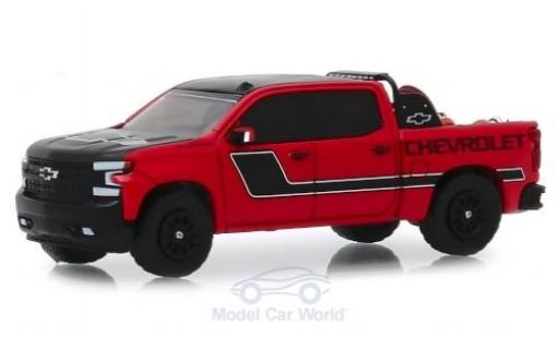 Chevrolet Silverado 1/64 Greenlight rouge/Dekor California Highway Patrol 2019 miniature