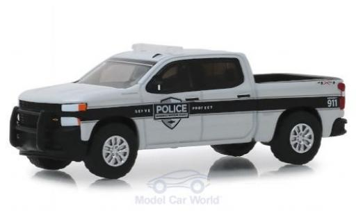 Chevrolet Silverado 1/64 Greenlight SSV General Motors Fleet Police 2019 miniatura