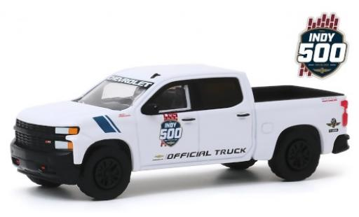 Chevrolet Silverado 1/64 Greenlight Trail Boss Z71 Indy 500 2019 103rd Running of the Indianapolis 500 Mile Race Official Truck coche miniatura