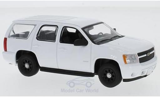 Chevrolet Tahoe 1/43 Greenlight Special Service Vehicle blanche miniature