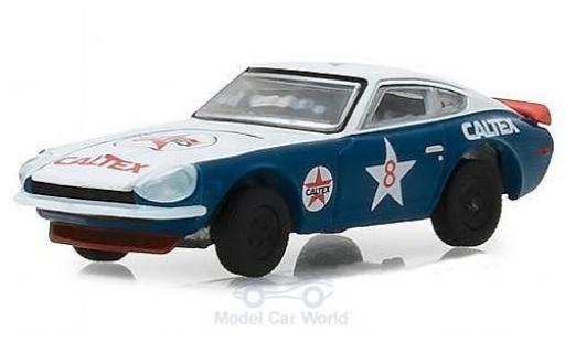 Datsun 240Z 1/64 Greenlight Caltex 1970 miniature