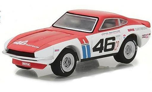 Datsun 240Z 1/64 Greenlight No.46 BRE 1970 J.Morton miniature