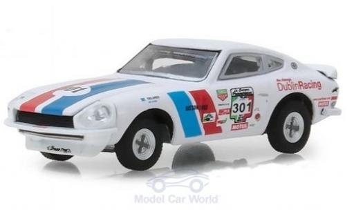 Datsun 240Z 1/64 Greenlight Rally No.301 1970 miniature