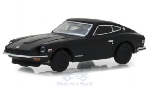 Datsun 240Z 1/64 Greenlight noire 1971 miniature