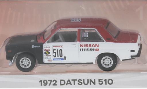 Datsun 510 1/64 Greenlight No.B 1972 2-Door Sedan diecast model cars
