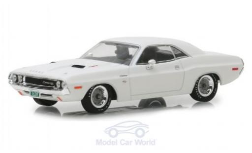 Dodge Challenger 1/43 Greenlight R/T blanche Vanishing Point 1970 miniature