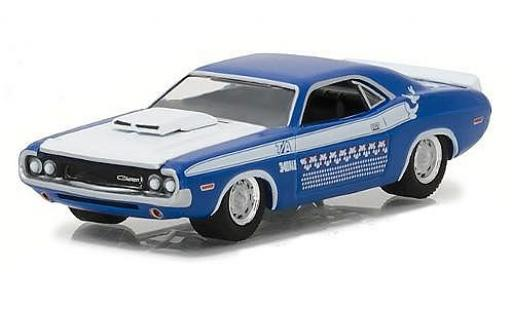 Dodge Challenger 1/64 Greenlight T/A blue 1970 diecast model cars