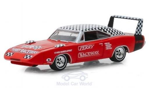 Dodge Charger 1/64 Greenlight Daytona Perry Raceway 1969 diecast