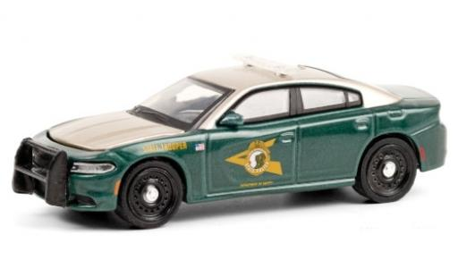Dodge Charger 1/64 Greenlight New Hampshire State Police 2018 miniature