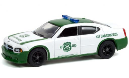 Dodge Charger 1/64 Greenlight Police Carabineros de Chile 2006 diecast model cars