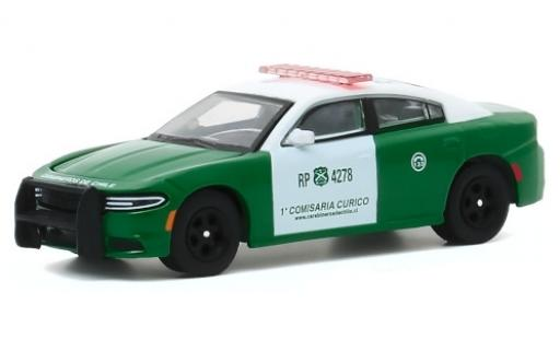 Dodge Charger 1/64 Greenlight Pursuit Carabineros de Chile - 1a Comisaria Curico 2018 diecast model cars