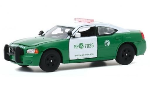 Dodge Charger 1/43 Greenlight Pursuit Carabineros de Chile 2008 diecast model cars