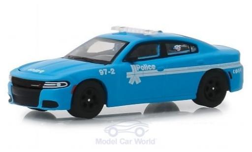 Dodge Charger 1/64 Greenlight Pursuit Montreal Police 2018 miniatura