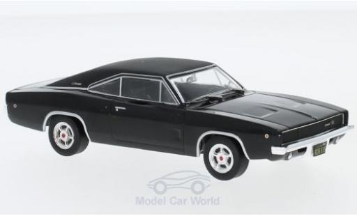 Dodge Charger 1968 1/43 Greenlight R/T black/matt-black Bullitt 1968 diecast