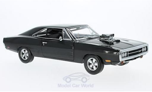 Dodge Charger 1/18 Greenlight noire Fast & Furious 2001 Doms 1970 miniature