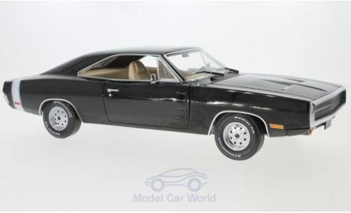 Dodge Charger 1970 1/18 Greenlight noire Supernatural TV Series miniature
