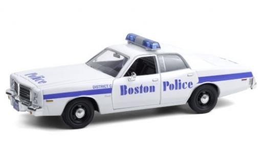 Dodge Coronet 1/24 Greenlight Boston Police 1976 diecast model cars