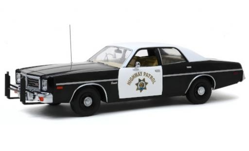 Dodge Coronet 1/18 Greenlight California Highway Patrol 1975 modellautos