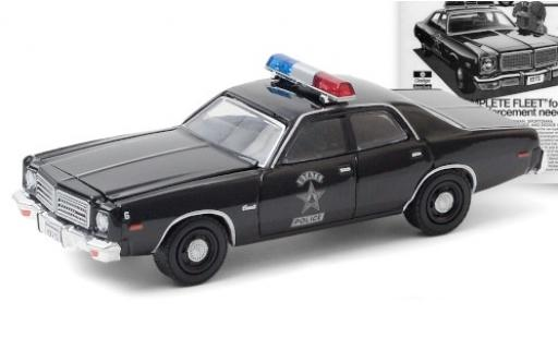 Dodge Coronet 1/64 Greenlight State Police 1975 miniature