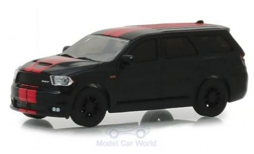 Dodge Durango 1/64 Greenlight SRT 392 noire/rouge 2018 miniature