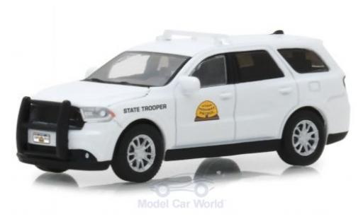 Dodge Durango 1/64 Greenlight Utah Highway Patrol 2017 miniature