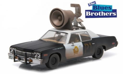 Dodge Monaco 1/43 Greenlight Bluesmobile diecast