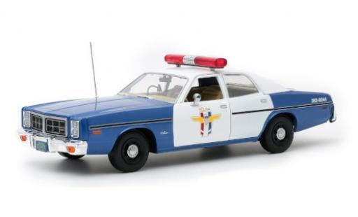 Dodge Monaco 1/18 Greenlight Camp Crystal Lake Police (Friday the 13th) 1978 miniature
