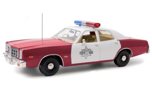 Dodge Monaco 1/18 Greenlight Finchburg County Sheriff 1977 diecast model cars