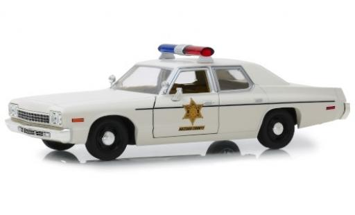 Dodge Monaco 1/24 Greenlight Hazzard County Sheriff modellautos