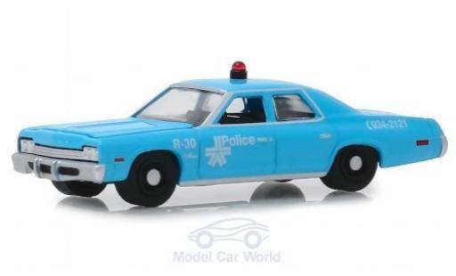Dodge Monaco 1/64 Greenlight Montreal Police 1974 diecast