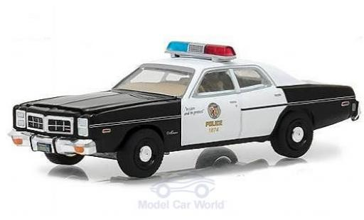 Dodge Monaco 1/64 Greenlight Police - The Terminator 1977 miniatura
