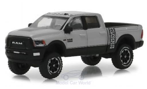 Dodge RAM 1/64 Greenlight 2500 Power Wagon metallic grey/black 2018 diecast